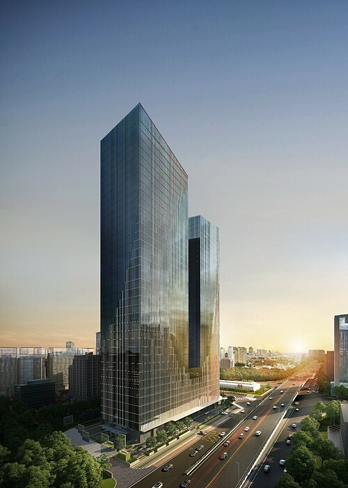 Capital Place provides over 93,000sqm of grade A offices for.