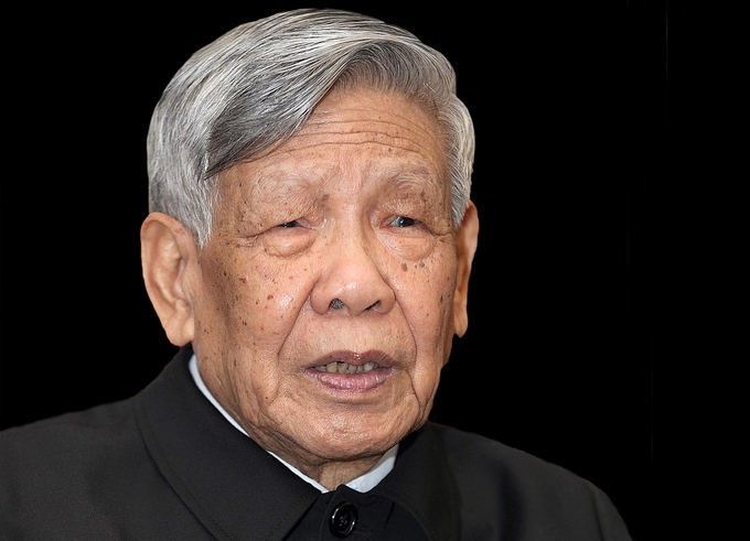 Former Communist Party General Secretary Le Kha Phieu. Photo by VnExpress/Hoang An.