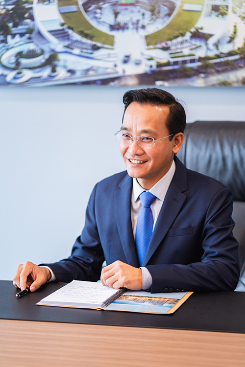 Vo Thanh Liem, acting general director of Coteccons.