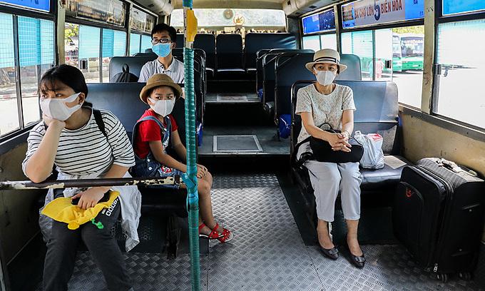 Covid-19 hurts public bus service in HCMC