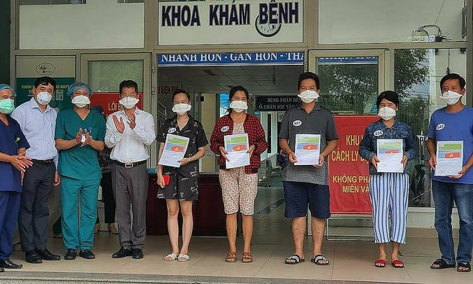 Five more Covid-19 patients recuperate in Da Nang