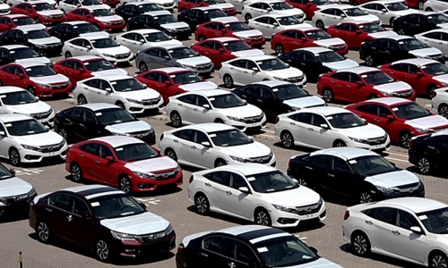 Car imports plummet nearly 50 pct, Covid-19 blamed