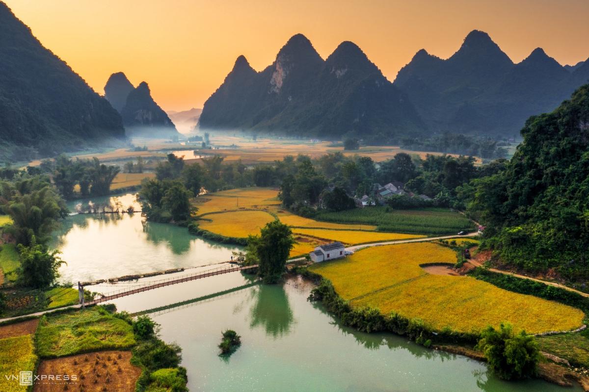 Unique hues of rural Vietnam