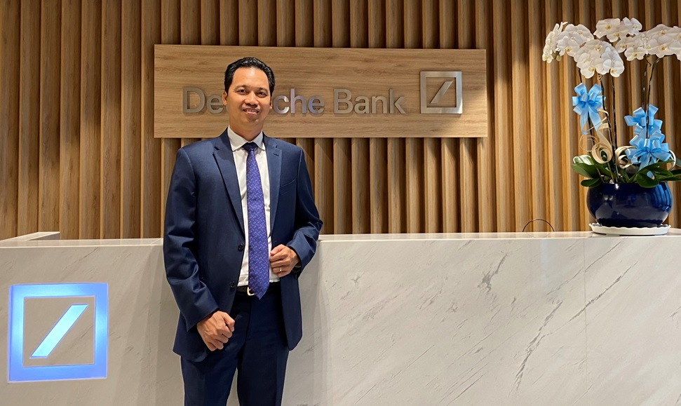 Huynh Buu Quang, acting CEO of Deutsche Bank Vietnam. Photo courtesy of Deutsche Bank Vietnam.