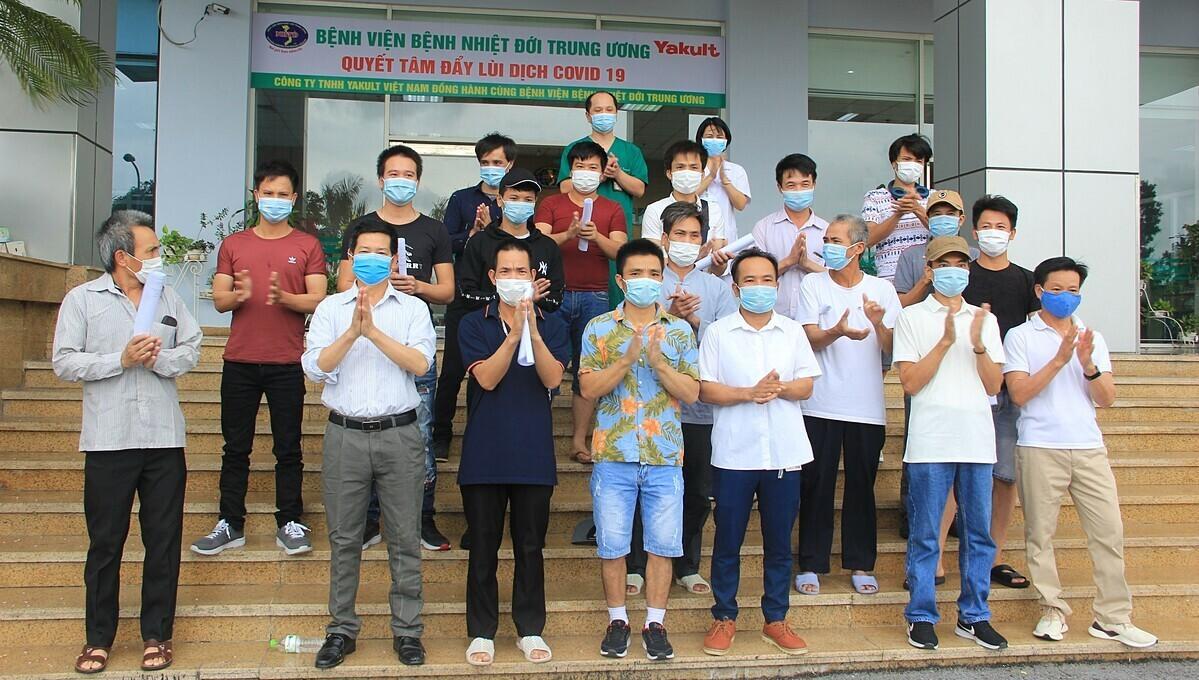 Image 59 coronavirus patients recover