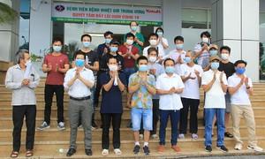 59 coronavirus patients recover