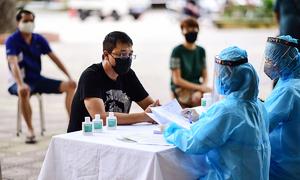 18,300 Da Nang returnees in Hanoi yet to undergo Covid-19 tests