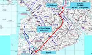 Vietnam mulls new 130 km Mekong Delta expressway