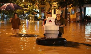 Six killed as flash flood, landslides hit northern Vietnam