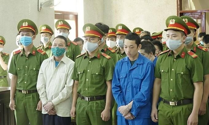 Former cop among seven sentenced to death for drug trafficking