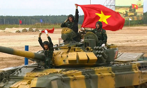 Vietnam tank crew loses on technicality at International Army Games