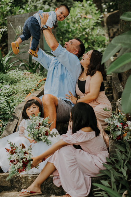 Trang and Wedel have another son after getting married. Photo courtesy of Trang.