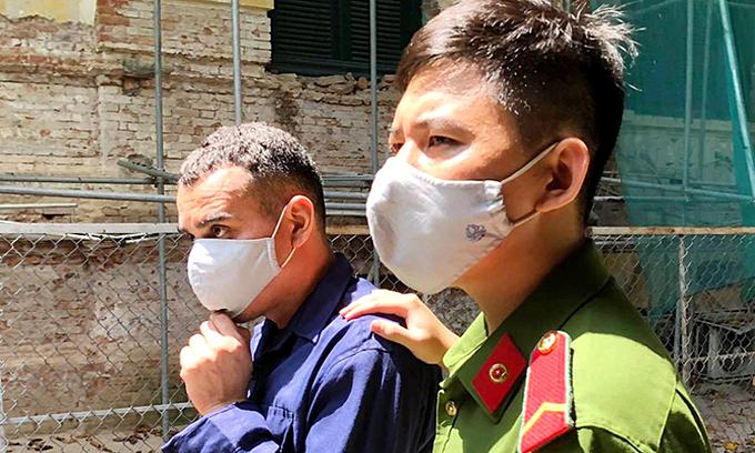 Colombian imprisoned for Saigon hotel heist