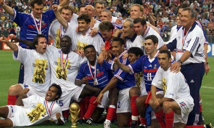 French 1998 Football World Cup Champions To Play Friendly In Vietnam Vnexpress International