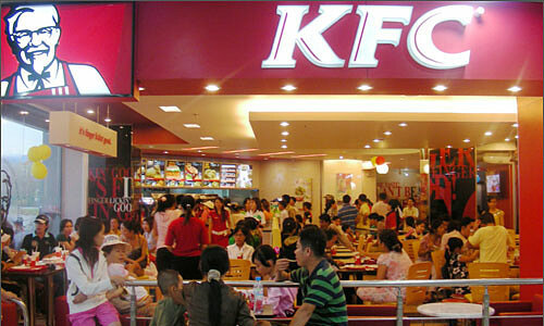 KFC most favored fast food chain in Vietnam: survey