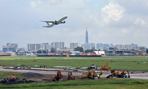 Saigon airport runway upgrade sees November finish
