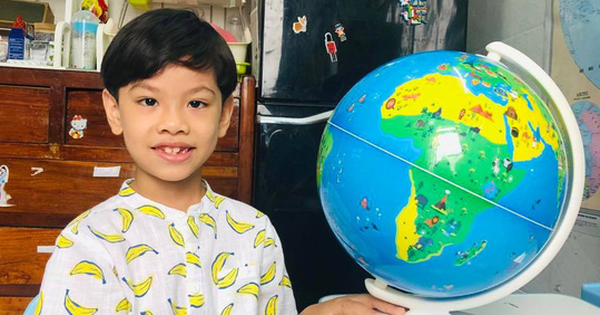 Seven-year-old Saigon prodigy holds the world in his tiny fist