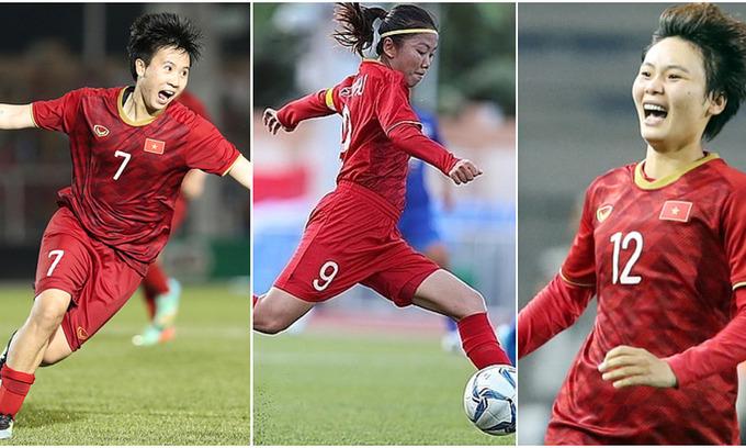 Three Vietnamese women footballers to play in Portugal
