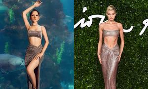 Vietnamese celebs allegedly copy paste Victoria's Secret models' style