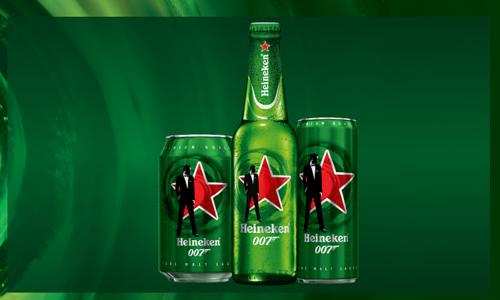 Heineken debuts limited edition James Bond packs