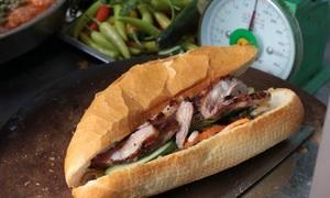 Pork rib cartilage bread lures patrons to Saigon eatery