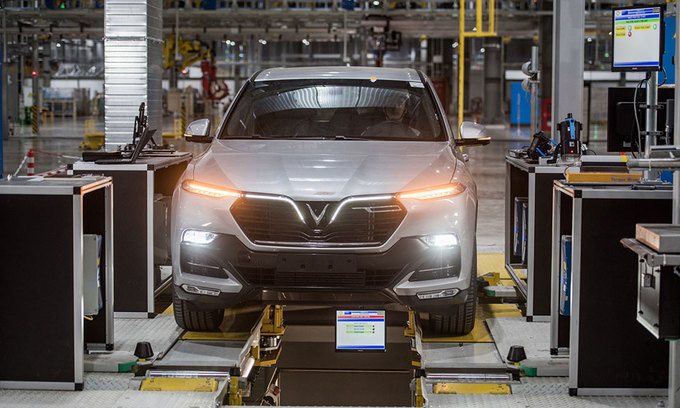 Carmaker VinFast posts $284 mln loss