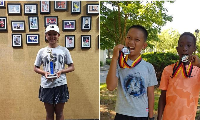 Vietnamese siblings triumph at US junior tennis tournament