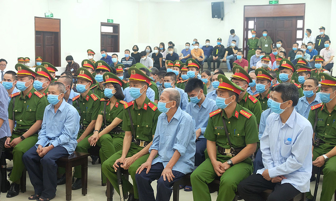 Death sentence sought for two cop killers in Hanoi clash