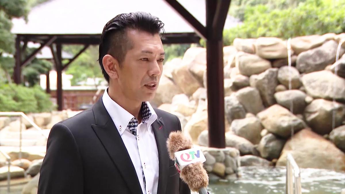 Wataru Shintaku, Japanese director of Yoko Onsen Quang Hanh Resort.