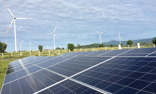 Solar power production triples