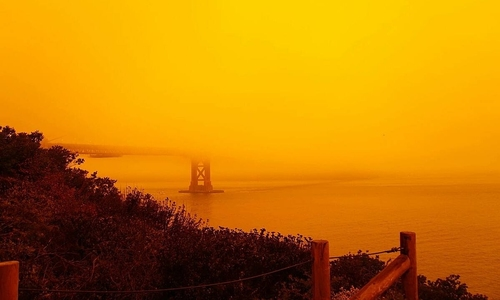 Orange alert: Vietnamese diaspora shocked by 'apocalyptic' California skies
