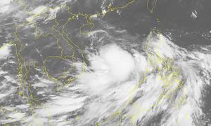 Tropical depression strengthens into storm off central Vietnam