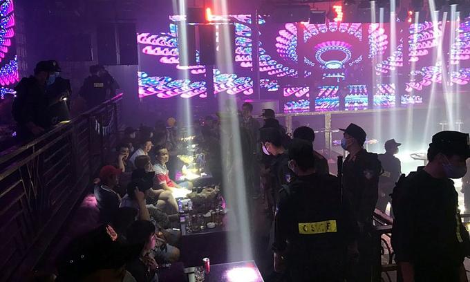 Bar raid in southern Vietnam nets 102 drug users