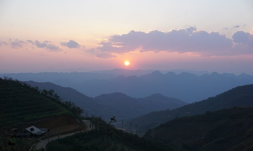 Getting lost in northern Vietnam commune Sin Suoi Ho
