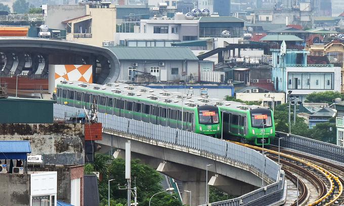 Hanoi proposes to build $2.8 bln metro line