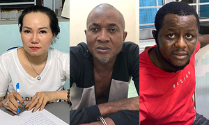 Two Nigerians, one Vietnamese snared in Saigon drug bust