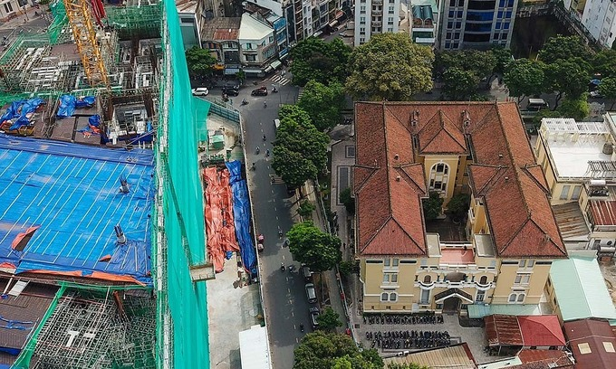 Saigon skyscraper investor submits museum repair plan