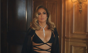 Jennifer Lopez opts for Cong Tri robe in latest music video