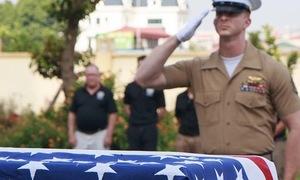 Vietnam returns missing US soldier's remains