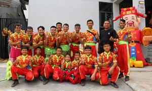 Lion dance troupe provides refuge for young Saigonese vagrants