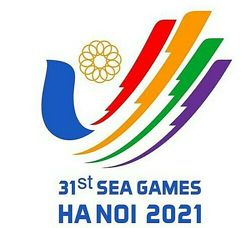 Design of the proposed SEA Games 31 logo. Photo courtesy of Vietnam Sports Administration.