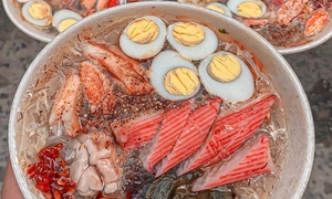 Saigon crab soup stall a big draw
