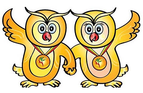 Myanmar hosted the 2013 SEA Games in the Burma.Two owls, Shwe Yoe and Ma Moe, were chosen as the mascots for the 27th edition. The owl is considered a lucky charm according to traditional Myanmar conception. With a lovely symbol and a friendly smile, this is how Myanmar wants to send warm, friendly greetings to neighboring countries in the region,