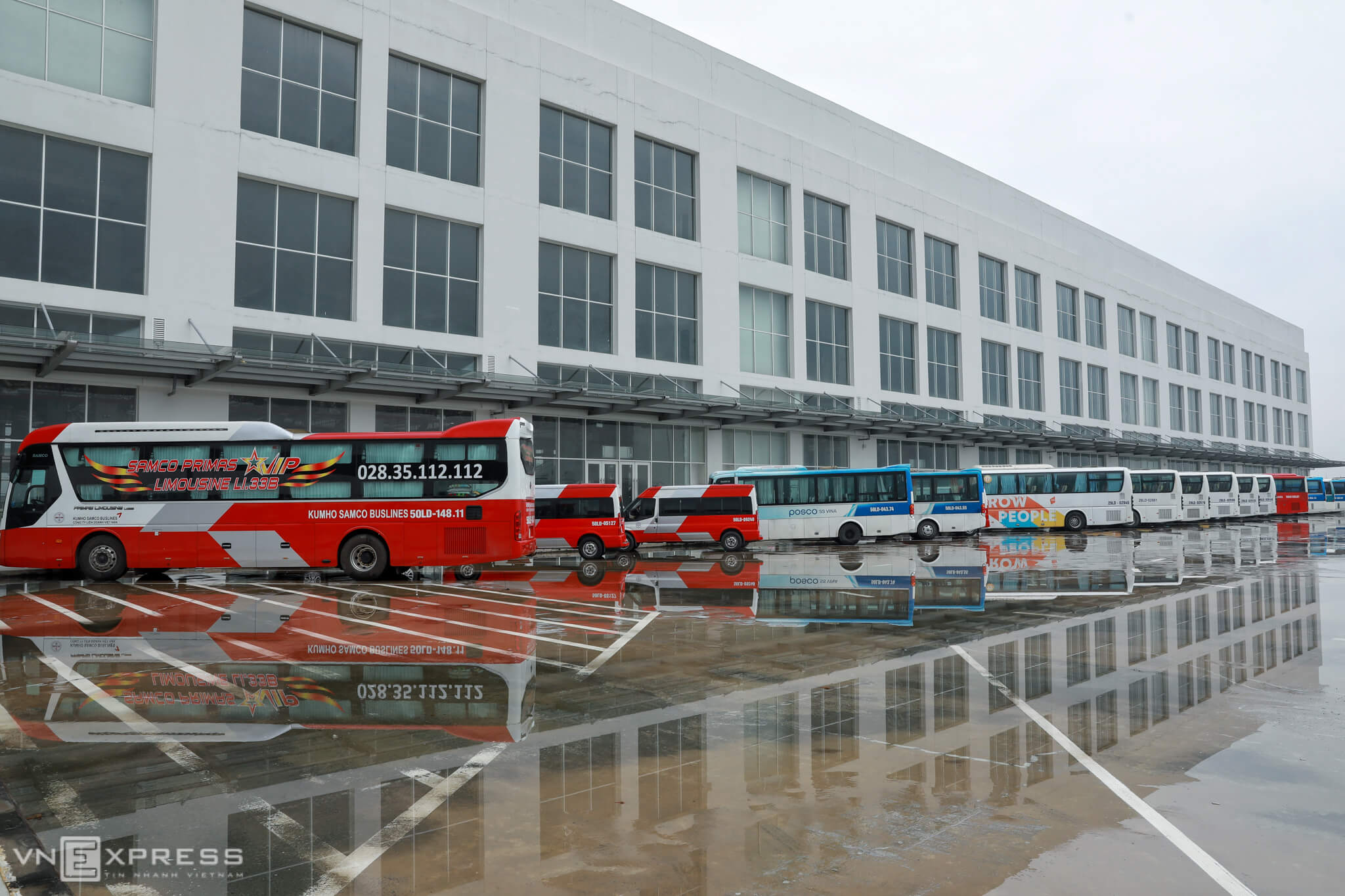 A close look at Vietnam's largest bus station in HCMC