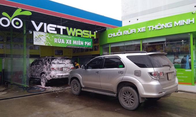 S Korean firm invests $1.7 mln in Vietnam car-wash chain