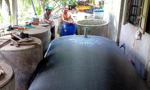 Mekong Delta braces for dry season with water storage arrangements