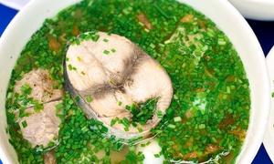 Nha Trang-style tuna noodle soup in Saigon