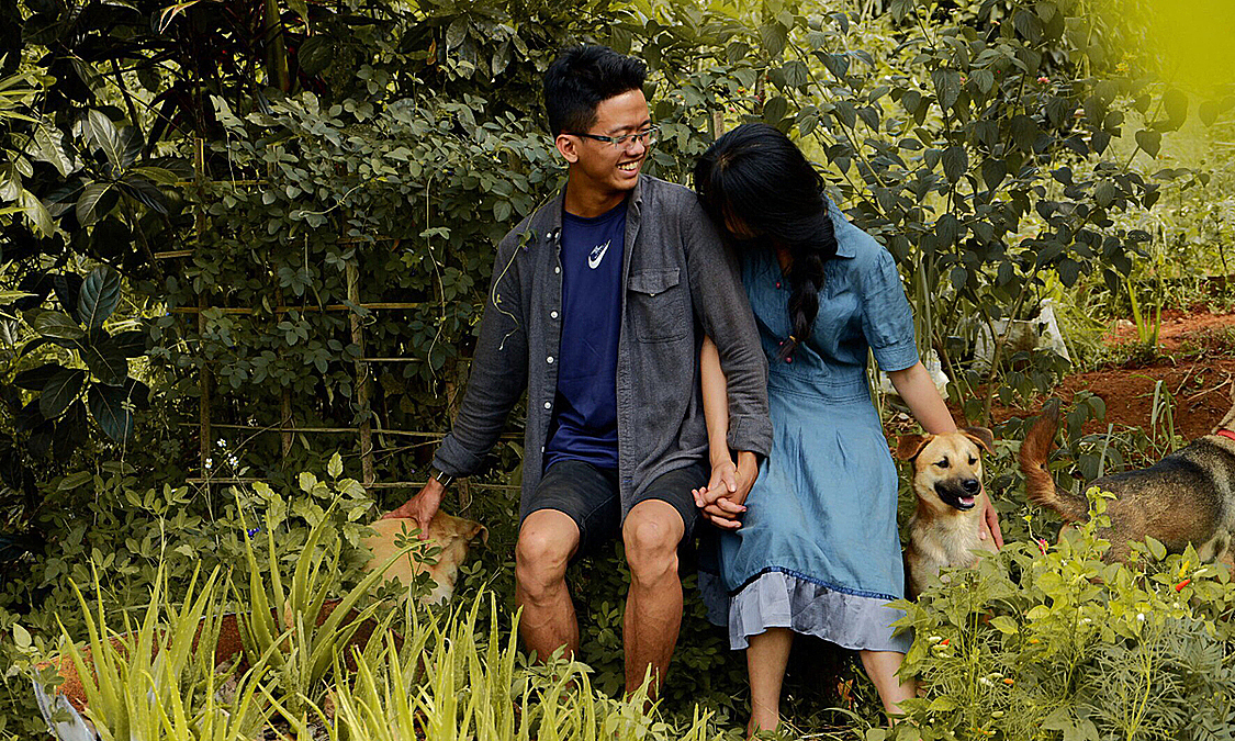 A young couple live in Dak Nong Province in Central Highlands after living HCMC at the age of 23. Photo by VnExpress/To Uyen.