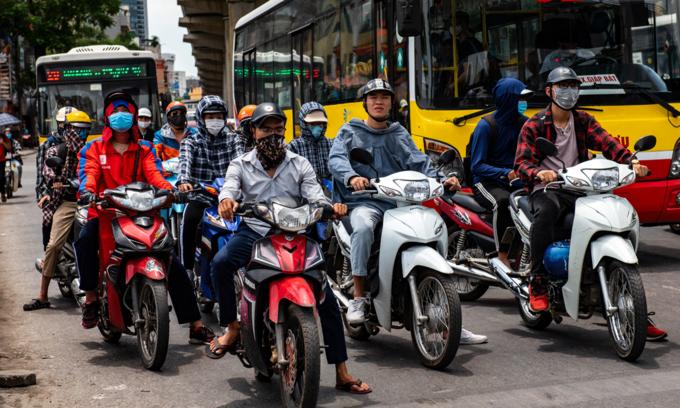 Vietnamese buy fewer motorbikes amid pandemic