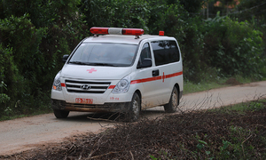 Bodies of 13 rescue team members retrieved from landslide rubble